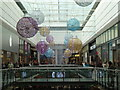 SJ8498 : Christmas decorations in the Arndale Centre, Manchester by Chris Allen