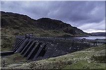 NN6039 : Lawers Dam by Peter Moore