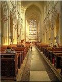 ST7564 : Bath Abbey - Nave by David Dixon