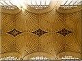 ST7564 : Bath Abbey, Ceiling by David Dixon
