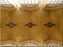 ST7564 : Bath Abbey, Ceiling by David Dixon