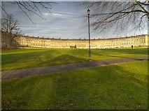 ST7465 : Bath, Royal Crescent by David Dixon