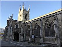 TL1998 : Church of St John the Baptist  by Bob Harvey