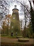 TQ1272 : The Shot Tower, Crane Park by Stefan Czapski