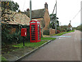 TL3362 : High Street,Telephone Box & High Street Postbox by Geographer