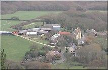 SY9282 : East Creech near Wareham by Peter Elsdon