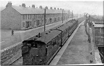 NZ4064 : Marsden station, South Shields, Marsden & Whitburn Colliery Railway, 1953 by Ben Brooksbank
