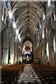 SO8554 : The interior of Worcester Cathedral by Philip Halling