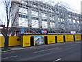 TQ3105 : Flats in construction on former co-op site by Paul Gillett