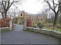 SD7308 : St. Stephen and All Martyrs, Lever Bridge by Philip Platt