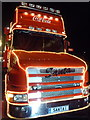 SZ0891 : Bournemouth: front of the Coca-Cola truck by Chris Downer