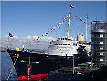 NT2677 : Royal Yacht Britannia by Adam D Hope