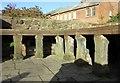 SJ4066 : Roman Hypocaust, Chester by Jeff Buck