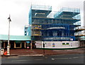 ST1871 : Marina Pavilion under scaffolding, Penarth by Jaggery