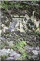 SE0188 : Benchmark on railway bridge abutment near Aysgarth Station by Roger Templeman