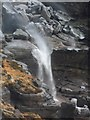 SK0888 : Kinder Downfall in High Winds by Anthony Parkes