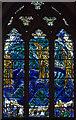 TQ9017 : Stained glass window, St Thomas' church, Winchelsea by Julian P Guffogg