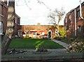 SJ9398 : Church of the Nazarene Garden by Gerald England
