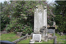 SK3736 : Whiting Family Grave in Nottingham Road Cemetery by Francis Dolman