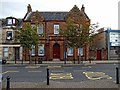 NS3239 : The Burns Club, Eglinton Street, Irvine by Dave Hitchborne