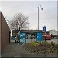 SJ9399 : Ashton Cycle Hub by Gerald England