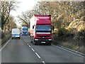SP1555 : Eastbound A46 near Drayton Barn by David Dixon