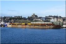 HU4741 : Barge, Lerwick Harbour by Richard Webb
