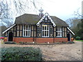TL1344 : Village Hall, Old Warden by Bikeboy