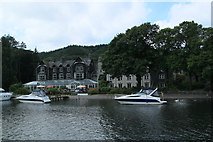 SD3787 : Lakeside Hotel Windermere by edward mcmaihin
