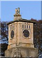 NT4227 : Bowhill House Clock Tower by Walter Baxter