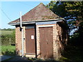 ST1542 : Holford Telephone Exchange (1) by David Hillas