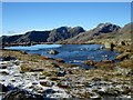 NY2405 : The southernmost tarn at Three Tarns by Graham Robson