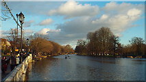 TL0549 : River Great Ouse at Bedford by Malc McDonald