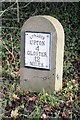 SO8435 : Replacement milestone on the B4211 by Philip Halling