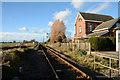 SE5154 : Disused railway platform at Marston Moor by Trevor Littlewood