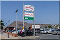 SN5881 : Ystwyth Retail Park by Ian Capper