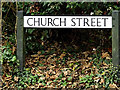 TL2755 : Church Street sign by Adrian Cable