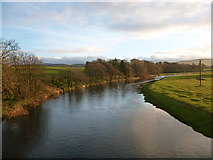 NT0136 : View upstream from Wolfclyde Bridge by Alan O'Dowd