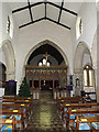 TL2755 : Inside of St Peter and St Paul Church, Little Gransden by Adrian Cable