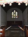 TL2755 : Altar & Window of St Peter and St Paul Church, Little Gransden by Adrian Cable