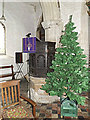 TL2755 : Pulpit of St Peter and St Paul Church, Little Gransden by Adrian Cable