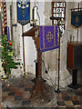 TL2755 : Lectern of St Peter and St Paul Church, Little Gransden by Adrian Cable