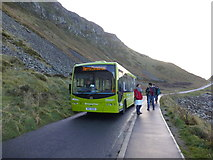 C9444 : Bus at the Giant's Causeway by Kenneth  Allen