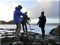 C9444 : On the rocks, Giant's Causeway by Kenneth  Allen