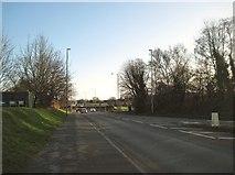 SK0418 : Western Springs Road, Rugeley by Tricia Neal