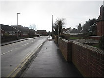 SK0418 : Fortescue Lane, Rugeley by Tricia Neal
