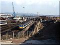 J3574 : CSD - looking East - October 1994 by The Carlisle Kid