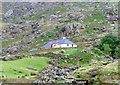 SH6157 : Farm in Llanberis Pass by nick macneill