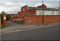 ST5777 : Entrance to Royal Mail delivery office, Westbury-on-Trym, Bristol by Jaggery
