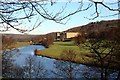 SK2569 : The River Derwent at Chatsworth by Graham Hogg
